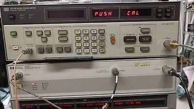Hp Hewlett Packard 8970b Option H05  8971c Combo Noise Figure Meter Test Set