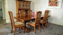 TIMBER DINING SUITE PACKAGE – 9 PIECES Kensington Park Burnside Area Preview