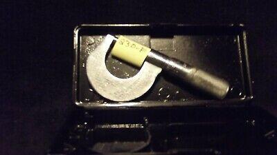 Starrett No. 230f Outside Micrometer Very Rare 2019-0089