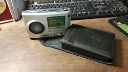 Sharper Image Travel Soother 20 Radio Alarm Clock Model SI621 W/ Case