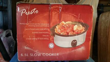 NEW Presto 6.5L Slow Cooker Airds Campbelltown Area Preview