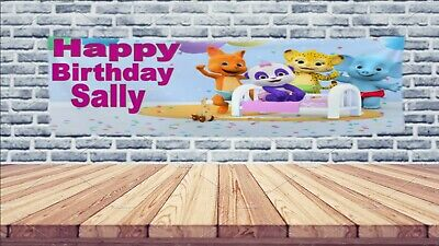 Personalized Happy Vinyl Birthday Banner - Word Party, Paw Patrol, Boss Baby](Vinyl Birthday Banners Personalized)