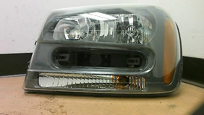 2002 - 2009 Chevrolet Trailblazer LH drivers side headlight Used OEM