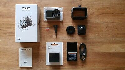 DJI Osmo Action Cam 4K HD Camera Boxed With NEW EXTRAS, Brand new Battery + SD