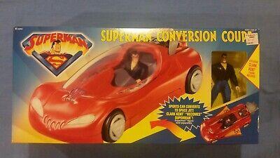 Superman Conversion Coupe Vehicle MIB - $34.99