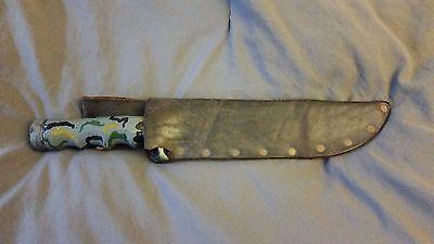 Explorer Wilderness Survival Knife, Straight Edge, Saw Back, Hollow Handle, 440C