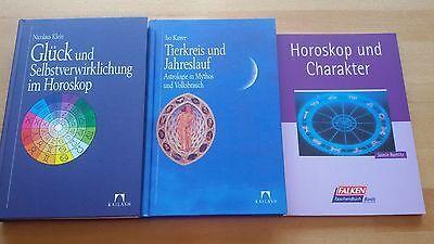Astrologiebücher - Paket mit 3 sehr guten
