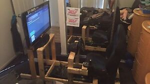 Logitech g920 steering wheels and shifter Evanston Gardens Gawler Area Preview