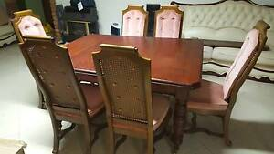 Beautiful rosewood timber extendable dining table Chatswood Willoughby Area Preview