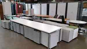 Office furniture chairs desks filing storage cabinets racks srvr Lansvale Liverpool Area Preview