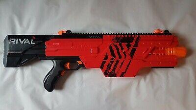 Nerf Rival Khaos MXVI-4000 Blaster Red belt fed motorized action UNTESTED