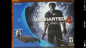 PS4  UNCHARTED BUNDLE NEW IN BOX
