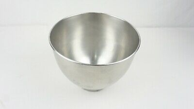 Kitchenaid K45 Brushed Stainless Bowl for 4.5 Quart Mixer Free Shipping