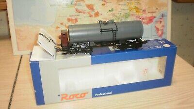 wagon citerne à bogies Benzol-Verband DR Roco professional HO