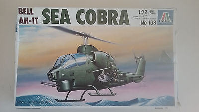 1/72 scale Italeri models BellAH-1T Sea Cobra  Helicopter