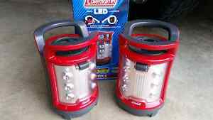 Coleman LED rechargeable camping lights ×2 Port Macquarie Port Macquarie City Preview