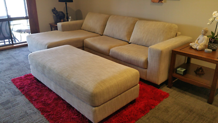 Lounge and ottoman OPEN TO REASONABLE OFFERS