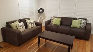 Sofa lounge suite - Mocca Lyndhurst Greater Dandenong Preview