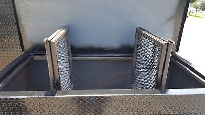 Chicken Flipper Bbq Smoker Side Grill Trailer Food Truck Catering Street Vendor