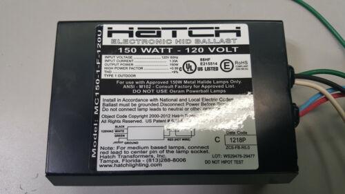 Hatch Electronic HID Ballast