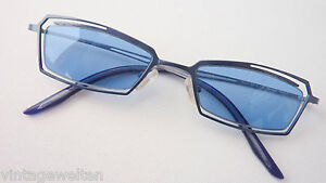 eckart leichte filigrane sonnenbrille blaue gl ser schmale. Black Bedroom Furniture Sets. Home Design Ideas