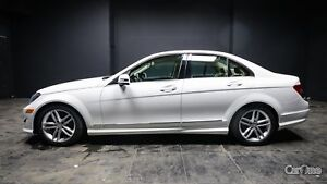 2014 Mercedes-Benz C-Class TAN LEATHER! HEATED SEATS! HANDS F...