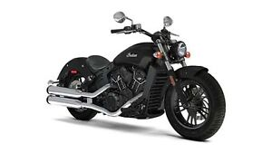 2018 Indian Motorcycles Scout Sixty THUNDER BLACK