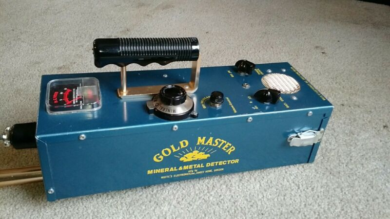 Antique Gold Master Metal Detector