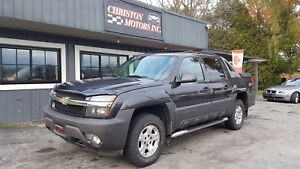2004 Chevrolet AVALANCHE Z71 4X4 CERTIFIED ETESTED ONLY  $5999+t