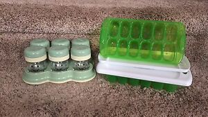 Baby food container lot