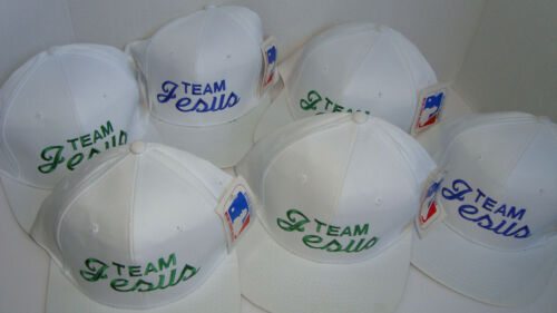 6 New TEAM JESUS Snapback Hat Adjustable Christian Cap Drew Pearson MLB Official