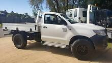 2012 TOYOTA 3.0 TURBO DIESEL HILUX WORKMATE 4X4 - LOW KMS Tweed Heads South Tweed Heads Area Preview