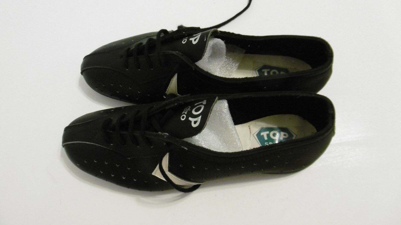 Vintage Top Giro Leather Cycling Shoes Size 39 NOS