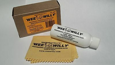 WEE WILLY Professional Motorcycle Helmet Visor Cleaner Replenishment -