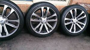 """2016 FORD 18"""" Rims and Tyres 245/40R18 Dandenong South Greater Dandenong Preview"""