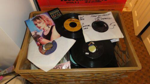 Bulk Lots of about 250 45s from the 1950s-1980s Rock, Pop, R&B, Country