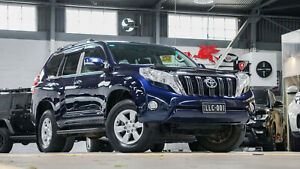 2014 Toyota Landcruiser Prado KDJ150R MY14 GXL (4x4) Blue 5 Speed Sequential Auto Wagon Port Melbourne Port Phillip Preview