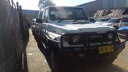 Wrecking 1992 Toyota Land Cruiser 75 series Ute | A1340 Revesby Bankstown Area Preview