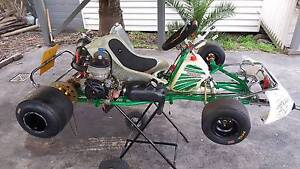 Tony kart go kart on road fireball 125cc water cooled Mount Martha Mornington Peninsula Preview