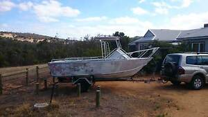 18 ft /5.5 mtr  aluminium runabout  $4,000  ono Chittering Chittering Area Preview