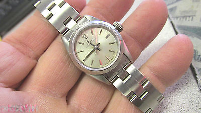 Ladies Rolex Watch Stainless Steel  Overhauled & Resurfaced    Make Offer