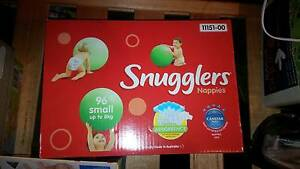 BNIB Small Snugglers Nappies x 96 plus other baby stuff Pakenham Cardinia Area Preview