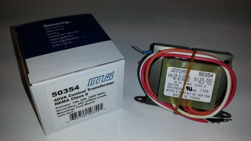 Control Transformer 40VA 24V coil 50354 TWF424-40