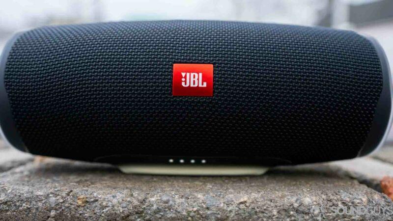 JBL JBLCHARGE4BLUAM Charge 4 Blue Portable Bluetooth Speaker