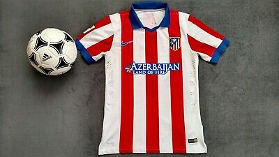 ATLETICO MADRID Griezmann 2014-2015 NIKE Authentic HOME FOOTBALL SHIRT JERSEY M image