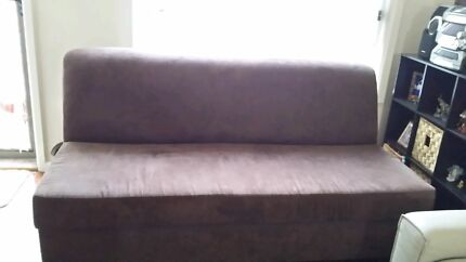 Sofa bed lounge with innerspring mattress Seven Hills Blacktown Area Preview
