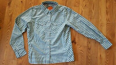 Simms BIG SKY Short Sleeve Shirt ~ Boulder Plaid NEW ~ Closeout Size Small
