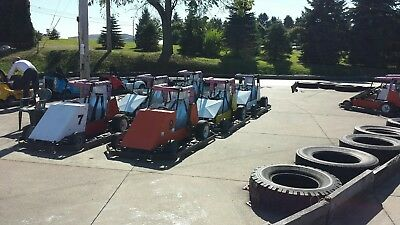 Go Kart Business Complete concession track operation Sprint carts midgets