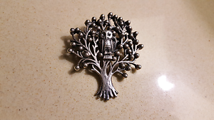 Silver Tree / Owl Pendant for Necklace / Chain Albany Creek Brisbane North East Preview
