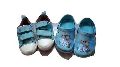 2 Paar Schuhe für Mädchen, Gr. 25/26  - Elsa Und Anna Schuhe